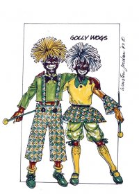 Costumes depicting themes